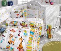 Детский Комплект Постельного белья Bebek Ranforce Uyku Seti