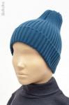 Демисезонная шапка-трюфель для мальчика