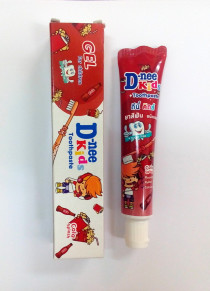 Детская гелевая зубная паста D-nee Kids со вкусом кока-колы