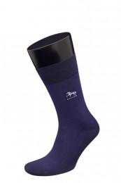 67799 Мужские носки (ГРАНД)синий/синий