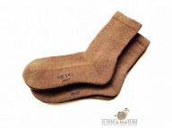 Носки из верблюжьей шерсти темные