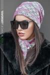 комплект шапка+хомут №206