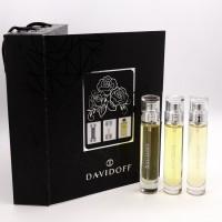 """Мужской Подарочный набор """"Davidoff"""" 3 x 15 ml."""