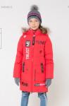 Пальто зимнее девочка пуховое Крокид CROCKID зима 19-20
