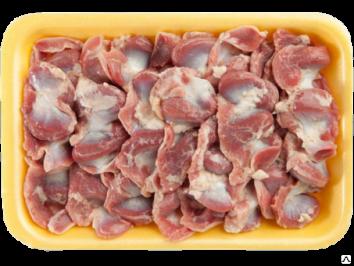 Желудки куриные лоток охлаждение 10кг.