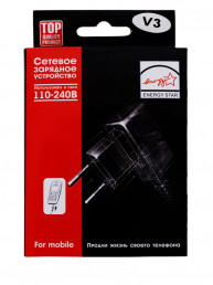 Сетевое зарядное устройство Energy Mini Usb V3 (1000mAh) - ч
