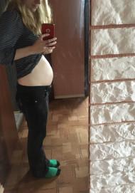 Фото животиков на 17 неделе беременности