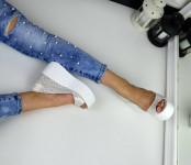 Туфли с открытыми пальчиками