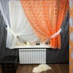 Шторы 7007 №1 Оранжевые
