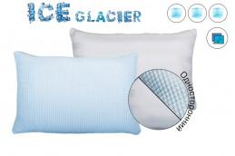 Наволочка Айс Глатчер с охлажд.эффектом,70*70,синий,1 сторон