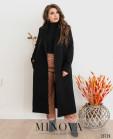 Пальто №318-1-Черный