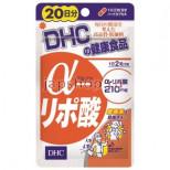 DHC Альфа липоевая кислота, снижение веса, курс на 20 дней