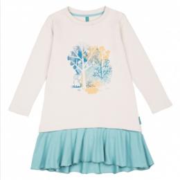 """Платье для девочки """"Зайка в лесу"""""""