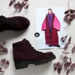 """Замшевые """"грубые"""" ботинки. New collection 19/20"""