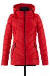 04-1199 Куртка демисезонная (синтепух 150) Плащевка Красный