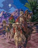 Набор для раскрашивания (акрил): Путешествие волхвов, 51 х 4