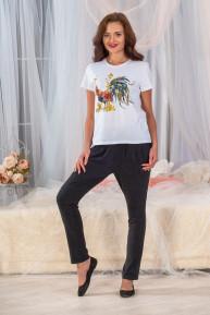 Женская футболка Петушок