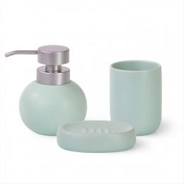 9507 FISSMAN Дозатор для жидкого мыла 300мл, стакан 290мл и