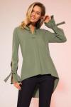 блуза LaVeLa Артикул: L50105 хаки