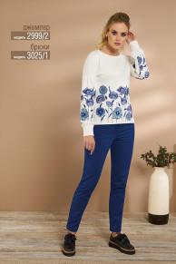 брюки NiV NiV fashion Артикул: 3025/1
