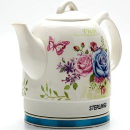 10754 Эл.чайник 1,2л 1000Вт Керамика ZM (х4)