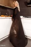 Шифоновый длинный халат