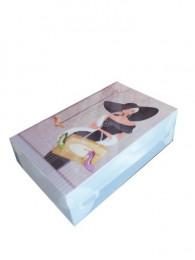 Коробка для женской обуви Мадам