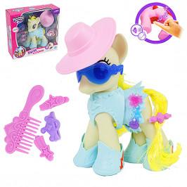Игрушка сказочная пони в шляпе с музыкой и подсветкой