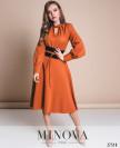 Платье №5142.20-Терракотовый