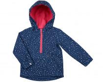 Куртка анорак для девочки с капюшоном
