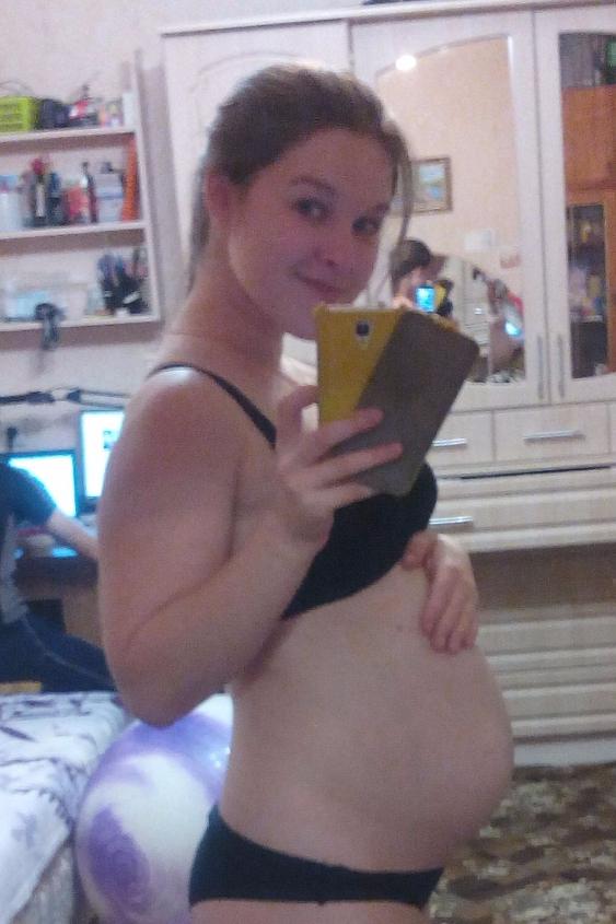 26 неделя беременности фото животиков