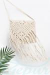 Вязаная сумка бахрома Gepur