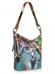 Женская кожаная сумочка Acquanegra (Акванегра)