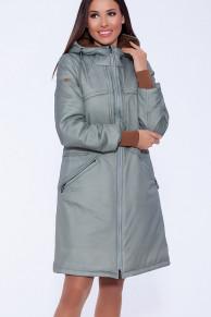 56001 Пальто (D'IMMA)Бледно-зеленый