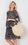 Бескаркасная плетенная сумка MR 2222 2372 0220 Milk от MR52