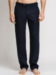 Мужские льняные брюки / ЦВЕТ:  т.синий