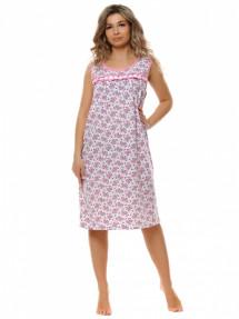 """0015 Ночная сорочка """"Розовый"""""""