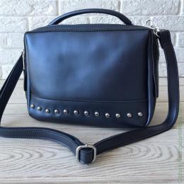 Женская кожаная сумка А-1268 Д.Блу