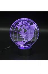 СВЕТИЛЬНИК 3D ГЛОБУС CREATIVA LIGHT