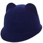 Шляпа фетровая F16005 электрик