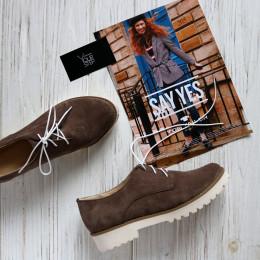 Замшевые туфли. New Collection 18