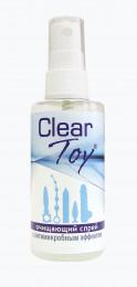 Очищающий спрей Clear Toy с антимикробным эффектом - 75 мл.