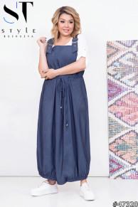 Комплект двойка 47320 (блузка+ сарафан)
