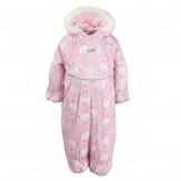 Комбинезон для малышей CAT розовый