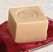 """""""Мыло""""-сухой шампунь лимонное для светлых волос и от пигмент"""