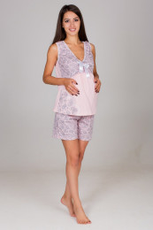 Пижама для беременных ,ткань кулирка