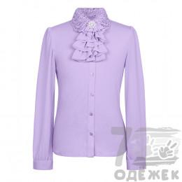 086ZS Блузка для девочки с длинным рукав