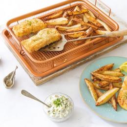 Сетка-корзинка для духовки, фритюра и барбекю.