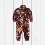 Комбинезон (флисовая поддёва) камуфляж коричневый