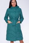 #34769 Пальто Зеленый